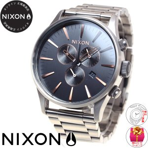 本日ポイント最大31倍!24日23時59分まで! ニクソン(NIXON) セントリークロノ SENTRY CHRONO 腕時計 メンズ クロノグラフ NA3862064-00 neel 02