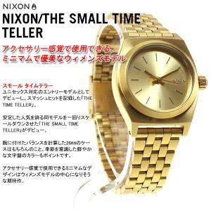 本日ポイント最大31倍!24日23時59分まで! ニクソン(NIXON) スモールタイムテラー TIME TELLER 腕時計 レディース ゴールド NA399502-00|neel|03