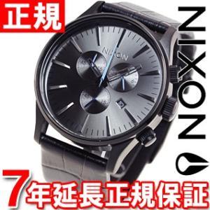 本日ポイント最大21倍! ニクソン(NIXON) セントリー クロノ レザー SENTRY 腕時計 メンズ クロノグラフ NA4051886-00 neel