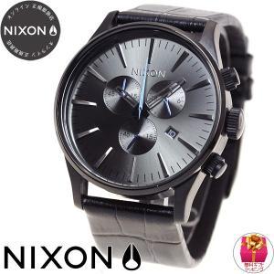 本日ポイント最大21倍! ニクソン(NIXON) セントリー クロノ レザー SENTRY 腕時計 メンズ クロノグラフ NA4051886-00 neel 02