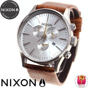 本日ポイント最大21倍! ニクソン(NIXON) セントリークロノレザー SENTRY 腕時計 メンズ クロノグラフ NA4051888-00|neel|02
