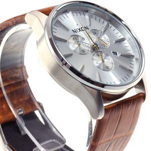 本日ポイント最大21倍! ニクソン(NIXON) セントリークロノレザー SENTRY 腕時計 メンズ クロノグラフ NA4051888-00|neel|05
