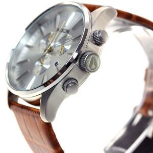 本日ポイント最大21倍! ニクソン(NIXON) セントリークロノレザー SENTRY 腕時計 メンズ クロノグラフ NA4051888-00|neel|06