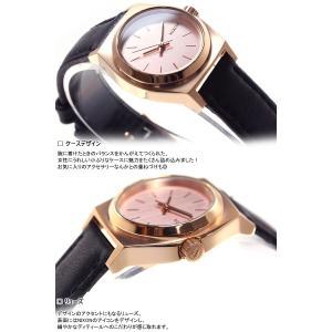 本日ポイント最大21倍! ニクソン(NIXON) スモールタイムテラーレザー SMALL TIME TELLER 腕時計 レディース NA5091932-00|neel|05