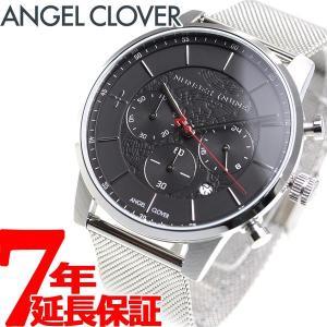 ポイント最大21倍! エンジェルクローバー ナンバーナイン コラボ 腕時計 メンズ NNCH42SBK ANGEL CLOVER|neel