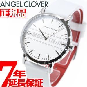 ポイント最大21倍! エンジェルクローバー ナンバーナイン コラボ 腕時計 メンズ NNR40SSV-WH ANGEL CLOVER|neel