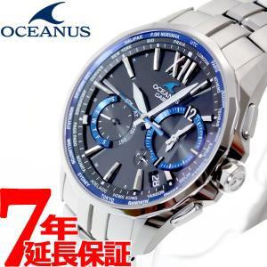 本日ポイント最大16倍! オシアナス マンタ 電波ソーラー 腕時計 メンズ OCW-S3400-1AJF カシオ|neel