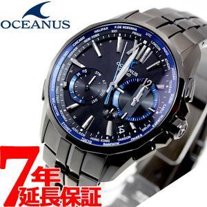 本日ポイント最大16倍! オシアナス マンタ 電波ソーラー 腕時計 メンズ OCW-S3400B-1AJF カシオ|neel