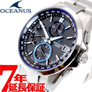 本日ポイント最大16倍! オシアナス 電波ソーラー 腕時計 メンズ OCW-T2600-1AJF カシオ|neel