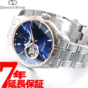 今だけ!ポイント最大26倍! オリエントスター 限定モデル セミスケルトン 腕時計 メンズ 自動巻き RK-AV0111L|neel