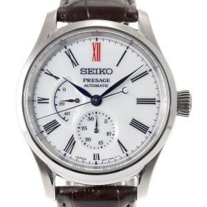 今だけ!ポイント最大30倍! セイコー プレザージュ 自動巻き メカニカル 有田焼ダイヤル 流通限定モデル 腕時計 メンズ SARW049|neel|18