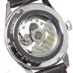 今だけ!ポイント最大30倍! セイコー プレザージュ 自動巻き メカニカル 有田焼ダイヤル 流通限定モデル 腕時計 メンズ SARW049|neel|09