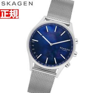 スカーゲン SKAGEN ハイブリッド スマートウォッチ ウェアラブル 腕時計 メンズ ホルスト H...