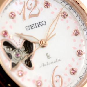 ルキア セイコー メカニカル 自動巻き 2019 SAKURA Blooming 限定モデル 腕時計 レディース SSQVM050|neel|14