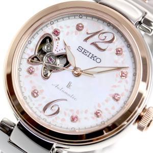 ルキア セイコー メカニカル 自動巻き 2019 SAKURA Blooming 限定モデル 腕時計 レディース SSQVM050|neel|15