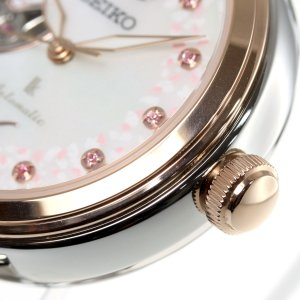 ルキア セイコー メカニカル 自動巻き 2019 SAKURA Blooming 限定モデル 腕時計 レディース SSQVM050|neel|18