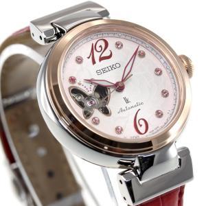 ポイント最大21倍! ルキア セイコー メカニカル 自動巻き 2019 SAKURA Blooming 限定モデル 腕時計 レディース SSQVM052|neel|16
