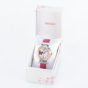 ポイント最大21倍! ルキア セイコー メカニカル 自動巻き 2019 SAKURA Blooming 限定モデル 腕時計 レディース SSQVM052|neel|09