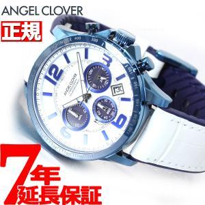 ポイント最大21倍! エンジェルクローバー ソーラー 腕時計 メンズ タイムクラフト TCS44BNV-WH|neel