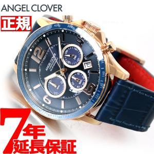 ポイント最大21倍! エンジェルクローバー ソーラー 腕時計 メンズ タイムクラフト TCS44PG-NV|neel