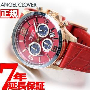 ポイント最大21倍! エンジェルクローバー ソーラー 腕時計 メンズ タイムクラフト TCS44PG-RE|neel