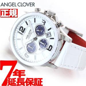 ポイント最大21倍! エンジェルクローバー ソーラー 腕時計 メンズ タイムクラフト TCS44SWH-WH|neel