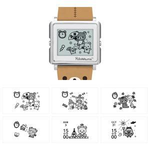 ポイント最大12倍! エプソン スマートキャンバス リラックマ EPSON 腕時計 W1-RK10110|neel|12