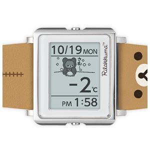 ポイント最大12倍! エプソン スマートキャンバス リラックマ EPSON 腕時計 W1-RK10110|neel|08