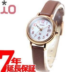 本日ポイント最大34倍!23時59分まで! オリエント イオ iO ソーラー 腕時計 レディース WI0041WG