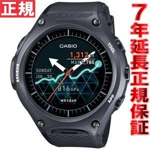 カシオ スマートアウトドアウォッチ 腕時計 メンズ WSD-F10BK スマートウォッチ