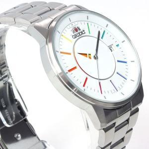 本日ポイント最大31倍!24日23時59分まで! オリエント スタイリッシュ&スマート ディスク 腕時計 メンズ 自動巻き WV0821ER ORIENT|neel|04