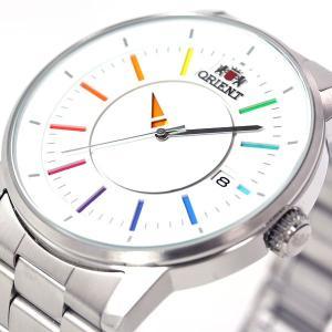 本日ポイント最大31倍!24日23時59分まで! オリエント スタイリッシュ&スマート ディスク 腕時計 メンズ 自動巻き WV0821ER ORIENT|neel|05