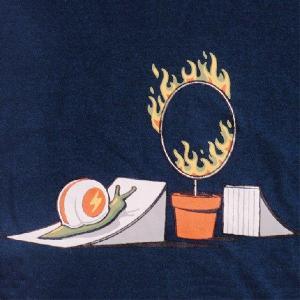 デザインTシャツ 完全なる不可能へのチャレンジ!挑戦者かたつむりの「男の後ろ姿」に涙せよ!|neigh