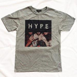 グラフィックTシャツ 「HYPE(ウソこいてます)デザイン」 飲みまくってる? いや、中身はもしかして烏龍茶?Tシャツ|neigh|02