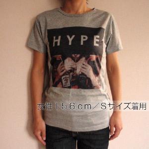 グラフィックTシャツ 「HYPE(ウソこいてます)デザイン」 飲みまくってる? いや、中身はもしかして烏龍茶?Tシャツ|neigh|04