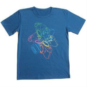 グラフィックTシャツ カメラがおしゃれに舞い踊る!!「LOVE一眼レフ」 おしゃれな文化系Tシャツ|neigh|02