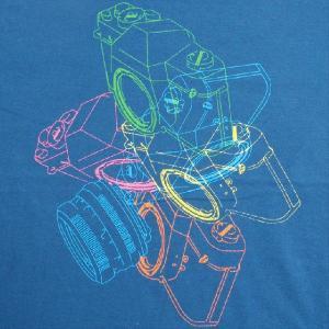グラフィックTシャツ カメラがおしゃれに舞い踊る!!「LOVE一眼レフ」 おしゃれな文化系Tシャツ|neigh|03