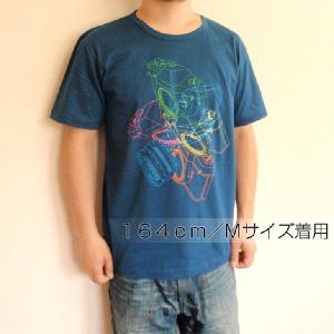 グラフィックTシャツ カメラがおしゃれに舞い踊る!!「LOVE一眼レフ」 おしゃれな文化系Tシャツ|neigh|04