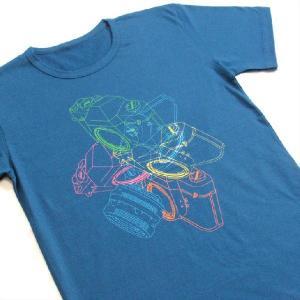 グラフィックTシャツ カメラがおしゃれに舞い踊る!!「LOVE一眼レフ」 おしゃれな文化系Tシャツ|neigh|05