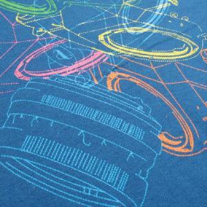 グラフィックTシャツ カメラがおしゃれに舞い踊る!!「LOVE一眼レフ」 おしゃれな文化系Tシャツ|neigh|06