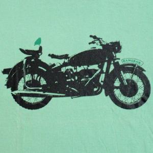 グラフィックTシャツ バンコクで見つけたアメリカンバイクがそのままプリント!「アメリカン単車@BKK」 おしゃれな文化系Tシャツ|neigh