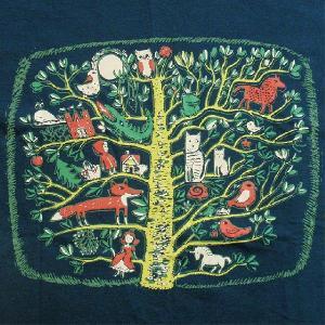 ナチュラルTシャツ 童話のような雰囲気のかわいいデザインが女の子に人気!「童話の樹」 ナチュラルなデザインTシャツ|neigh