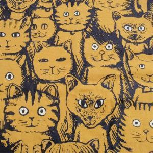 ニャンコTシャツ ネコがいっぱいのかわいいデザインが女の子に人気!「ニャンコまみれ」 ナチュラルなデザインTシャツ|neigh|06