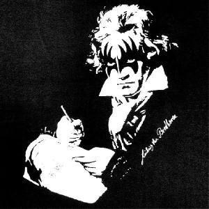 デザインTシャツ 音楽史を揺るがすコラボがここに誕生! ベートーヴェン x KISS|neigh