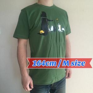 デザインTシャツ スターウォーズの隠れたエピソード! ネコにやさしいベイダー卿!|neigh|02