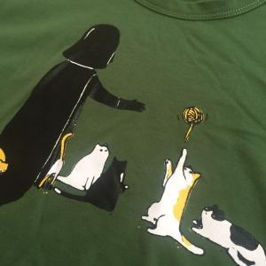デザインTシャツ スターウォーズの隠れたエピソード! ネコにやさしいベイダー卿!|neigh|04