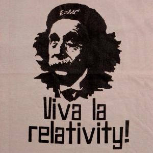 デザインTシャツ 物理学界の革命児アインシュタイン x 稀代の革命家チェ・ゲバラ!|neigh