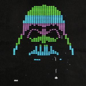 デザインTシャツ ベイダー&インベーダーで「インベイダー」!人気のスターウォーズパロディーTシャツ!|neigh