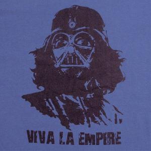 人気のパロディーTシャツ ベイダー&チェ・ゲバラで「VIVA LA EMPIRE(帝国万歳!)」!人気のスターウォーズデザインTシャツ|neigh