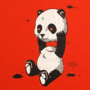 パロディーTシャツ Tシャツ界の雄gr●niphのControl Bearが巨大パンダに!「Uncontrol Panda」!|neigh